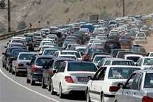 ترافیک در راه های البرز پر حجم شد