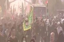 هم اکنون، تصاویری از پیاده روی نجف تا کربلا  بمناسبت اربعین حسینی