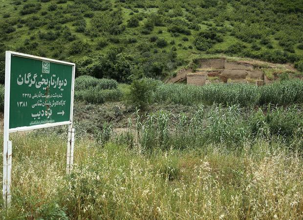 بازدید معاون میراث فرهنگی از 2 اثر تاریخی گلستان