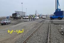 ساخت پل روگذر در تقاطع راه آهن آستارا با اردبیل آغاز شد
