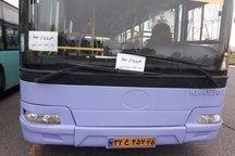 توقف ۳۰ دستگاه اتوبوس در تعمیرگاهها به دلیل کمبود قطعات