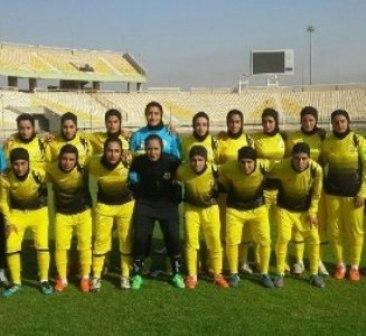 بانوان تیم فوتبال پالایش گاز مهیای حضور در رقابت های لیگ برتر می شوند