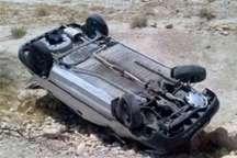 واژگونی 2 خودرو در محور کرج- چالوس  3 مورد تصادف شبانه در محورهای البرز
