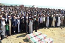 شمیم ایثار شهدای گمنام، فضای شهر حویق تالش را معطر کرد