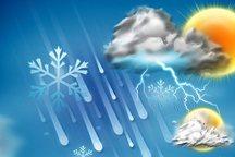 هواشناسی البرز در خصوص بارش تگرگ هشدار داد