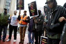 تظاهرات کارگری در نیویورک+ تصاویر