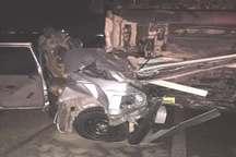 2 کشته و یک مصدوم در حوادث رانندگی جاده گناوه به دیلم