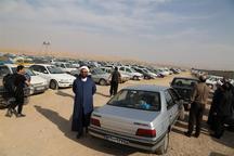 30 درصد ظرفیت پارکینگ های مهران تکمیل شد