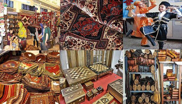 صادرات ۵.۷ میلیون دلاری صنایع دستی آذربایجان غربی