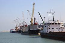 رشد ۱۲ درصدی صادرات از بندر امیرآباد