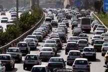 ترافیک در جاده های غرب خراسان رضوی سنگین است