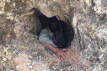 بزرگترین غار آبی استان در شهرستان اندیکا کشف شد