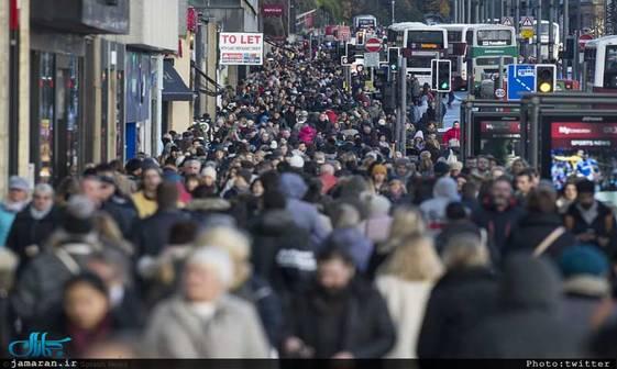 هجوم انگلیسی ها به فروشگاهها در جمعه سیاه+ تصاویر