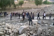 27کیلومتر از راههای مسدود شده مناطق سیل زده شهرستان مشگین شهر بازگشایی شد