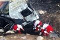 مرگ 2 نفر براثر اسید در تصادف پلدختر-اندیمشک
