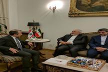 دیدار وزیران امور خارجه ایران و لبنان در بیروت