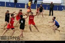 اردوی تیم ملی هندبال ساحلی جوانان در بوشهر آغاز شد