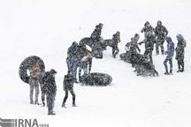 ورزش های زمستانی چشم به آسمان چهارمحال و بختیاری
