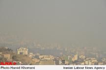 هوای تهران در وضعیت ناسالم