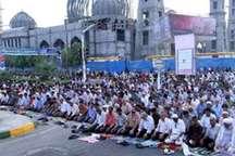 نماز عید فطر در بندرعباس در چهار راه مطهری برگزار می شود