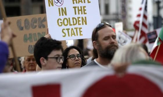 اعتراض به سیاست ضد مهاجرتی ترامپ+ تصاویر