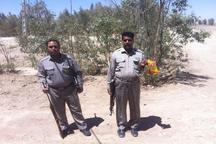 شکارچی غیر مجاز در زاهدان دستگیر شد