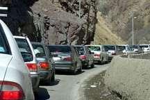 ترافیک در جاده کرج-چالوس نیمه سنگین است