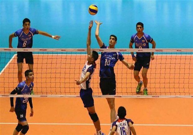 تیم والیبال جوانان آذربایجانغربی در نخسیتن گام فاتح دربی شد