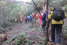 نجات 35 کوهنورد گم شده در منطقه گشت رودخان ماسوله