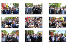 حضور شخصیت های سیاسی، فرهنگی و اجتماعی در راهپیمایی روز قدس