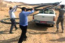 93هزار متر مربع از اراضی ملی جهرم رفع تصرف شد