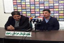 قلعه نویی:  یکی از آماده ترین تیم های لیگ برتر فوتبال را شکست دادیم