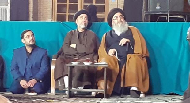 سعید مرتضوی در مراسم عزاداری + عکس