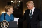 دیدار  مرکل و ترامپ اختلاف نظر میان دو طرف را از میان برنداشت
