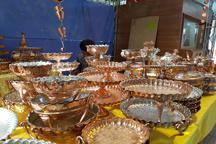 نمایشگاه سراسری صنایع دستی در کرمانشاه آغاز به کار کرد