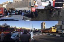 جزئیات برخورد دو قطار در ایستگاه متروی طرشت/ انتقال ۵۰ مصدوم به بیمارستان +اسامی بیمارستانها