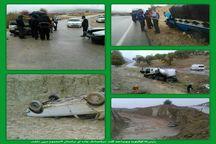 پنج سانحه رانندگی در کهگیلویه و بویراحمد 17 مصدوم برجای گذاشت