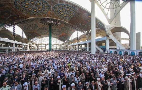 مصلی اصفهان میزبان نمازگزاران عید سعید فطر