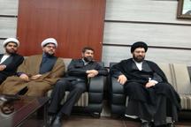 حجت الاسلام سیدعلی خمینی به خوزستان سفر کرد