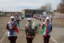 دانش آموزان بخش مرحمت آباد میاندوآب با بخاری های نفتی خداحافظی کردند