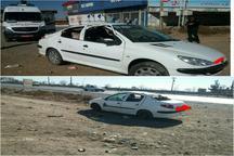 واژگونی خودرو 206 در شرق نیشابور 6 مصدوم داشت