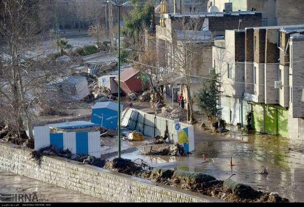 سیلاب سه هزار و 100 میلیارد ریال به لرستان خسارت زد