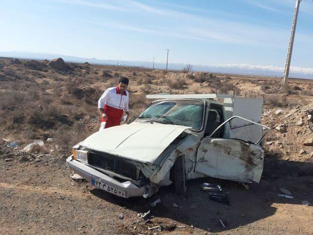 سه نفر در سانحه رانندگی در جوین مجروح شدند