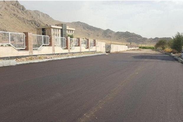 379 پروژه عمرانی امسال در روستاهای یزد اجرا شد