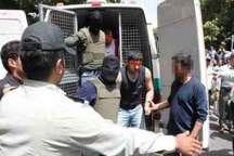 اعضای باند سارق مسلح با پوشش لباس پلیس در شهرستان فسا دستگیر شدند