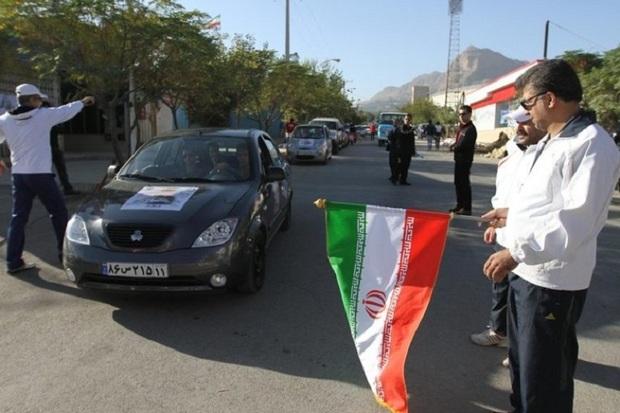 رالی خانوادگی نوروزی در شاهین دژ برگزار شد