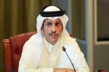 وزیر خارجه قطر: چرا کشورهای حوزه خلیج فارس به پیشنهادات آمریکا در خصوص بحران بی توجه اند؟
