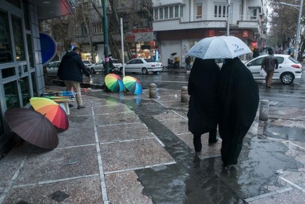 آسمان استان تهران بارانی می شود