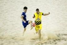 مسابقات فوتبال ساحلی لیگ دسته سه کشور در یزد آغاز شد