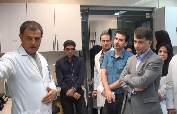 بخش ژنتیک و تشخیص مولکولی بیمارستان امام رضا افتتاح شد